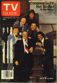 "Cast of ""Barney Miller"" on ""TV Guide"" from July 7, 1979 (Better version of an earlier pin.)"