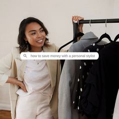 """During a recent Discovery Call, I discussed the investment with my client and after consideration, she said: """"You know what Fae? Let's do… Recent Discoveries, Personal Stylist, Consideration, Discovery, Saving Money, Investing, Stylists, Let It Be, Tips"""