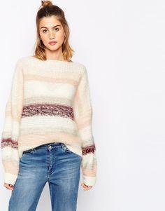 Baum und Pferdgarten Carenza balloon sleeve Sweater in mixed yarn