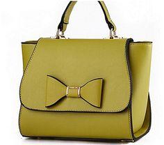 Buenocn Women Handbag Women's Bow Bag Women Messenger Bags Ladies Shoulder Bag Ls5933fb (apple green) ** You can find out more details at the link of the image.