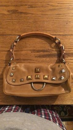 4d6f4a7f4c Prada Shoulder Bag W  Metal Studs  fashion  clothing  shoes  accessories