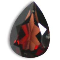 Buy online these high quality red garnet pears shape gems in 14x9mm up for sale at the wholesale prices.