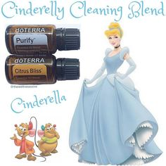 Disney Princess Essential Oil Blend Series  • This Cinderelly Blend was inspired by Disney's Cinderella, another favourite of mine. I think all Disney movies are my favourite, minus Pinocchio, that movie terrifies me. This blend is perfect to diffuse when you want your house to smell fresh and clean. I also love to add these oils to my mop bucket when cleaning the floors. Purify blend is a natural cleanser, free of harmful chemicals. Citrus Bliss has cleansing properties and will remove…
