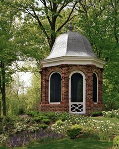 Want to build or decorate a backyard gazebo but you're low on inspiration? Read our article for amazing outdoor gazebo ideas that'll transform your garden! Landscape Elements, Landscape Design, Garden Design, Backyard Gazebo, Garden Gazebo, Garden Sheds, Pagoda Garden, Garden Path, Terrace Garden