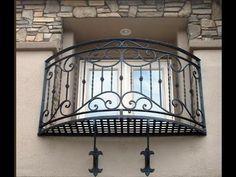 Balcony Grill Design, Balcony Railing Design, Window Grill Design, Juliet Balcony, Balcon Juliette, Tor Design, Iron Gate Design, Iron Stair Railing, Wrought Iron Decor