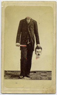 early trick photography c.1875
