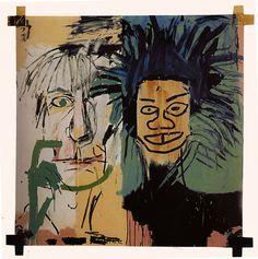 Dos Cabezas - Jean-Michel Basquiat. Selfportrait with Warhol