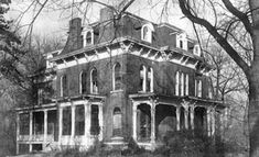 McPike Mansion, Alton, IL.  Check the website for 2x/year campout fundraisers to get this old house up to code again!