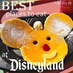 great round-up of the best places to eat at Disneyland (from an expert!)