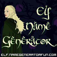 About The Sindarin Elf Name Generator  http://elf.namegeneratorfun.com/