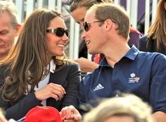 Kate Middleton, Prince William and Prince Harry Cheer on Zara Phillips at Olympics