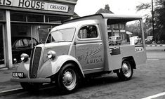 1950's Ford E83W Milk Float 1.2L 4-Cylinder 10hp SV Engine Small Trucks, Old Trucks, Ford Motor Company, Classic Chevy Trucks, Classic Cars, Vintage Trends, Vintage Ideas, Vintage Designs, Funny Vintage Photos