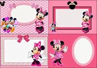 Printable Minnie Mouse Invitations Fresh Minnie Mouse In Pink Free Printable Invitations Labels or Cards Oh My Fiesta In English Minnie Mouse Clipart, Minnie Y Mickey Mouse, Free Printable Invitations, Party Invitations, Invitation Ideas, Disney Printables, Free Printables, 2nd Birthday Parties, Happy Birthday Cards