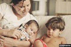 Bebê e sua família