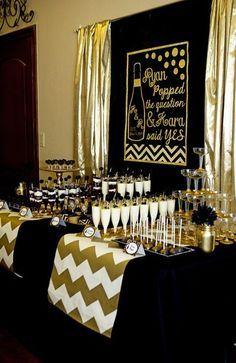 Gentleman Party фотозона Minty Decor Birthday Party Black