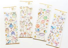 Sweet Dream Star & Unicorn Stickers – Kawaii Pen Shop