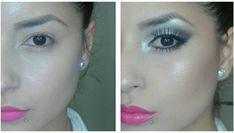7 Trucos que no conocías sobre el delineador - Soy Moda Makeup Tips, Beauty Makeup, Eye Makeup, Hair Beauty, Chokers, Hoop Earrings, Make Up, Eyes, Drink