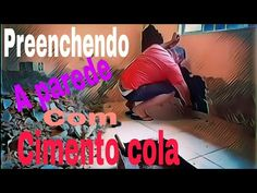 PREENCHENDO A PAREDE COM CIMENTO COLA// - YouTube Try Again, Youtube, Necklaces, Wall, Youtubers, Youtube Movies