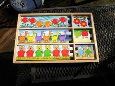 Melissa and Doug Wood Puzzle Set, 3 plus, girls and boys #MelissaDoug