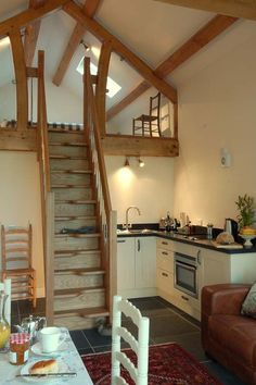 Barn apartment - for a very small space