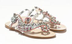 Las nuevas sandalias de Miu Miu inspiradas en el mar
