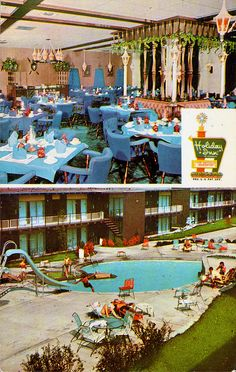 We always looked for a Holiday Inn on the way to Florida for an overnight stay!