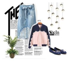 """Shein 5"" by amelaa-16 ❤ liked on Polyvore featuring Blauer, NDI, Sonneman and shein"