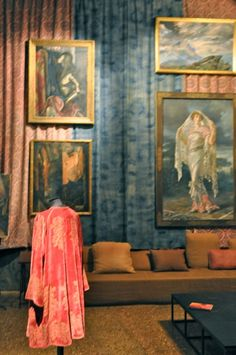 Mariano Fortuny painting in Palazzo Fortuny brookegiannetti.typepad.com