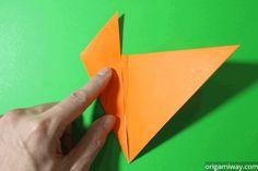 Very Easy Origami Fox Origami Fox Easy, Origami Bird, Origami Animals, Oragami, Origami Flowers, Origami Paper, Origami Instructions Easy, Origami Books, Origami Hearts
