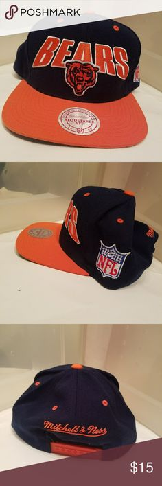 Mitchell Ness Chicago Bears Hat Very Clean hat from the Vintage Collection Mitchell & Ness Accessories Hats