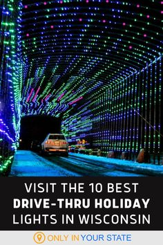 Have some festive, family-friendly winter fun this holiday season! Discover the best drive-thru Christmas Lights displays in Wisconsin. Christmas Light Displays, Holiday Lights, Christmas Lights, Winter Wonder, Winter Fun, Winter Travel, Milwaukee Downtown, Good Drive, Fun Walk