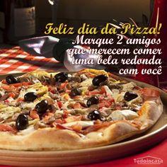 Card especial para o dia da Pizza na página de Facebook do Tudo in casa. Acesse a página no Facebook http://www.facebook.com/tudoincasa