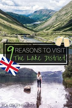 9 VERY Good Reasons to Visit the Lake District This Year. Here's why you should go to UNESCO world heritage site of the Lake District in Cumbria England. Food festivals scenery hiking and history! Cool Places To Visit, Places To Go, Uk Destinations, England And Scotland, Worldwide Travel, By Train, English Countryside, Vacation Places, Vacations