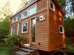 Houzz Tour: Teatime for a Tiny Portable Home in Oregon  A tearoom, soaking tub and bed of tatami mats recall Japan in this 134-square-foot house on wheels  Oct 2, 2013  asian exterior by Oregon Cottage Company