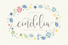 Cindelia by vuuuds on Creative Market