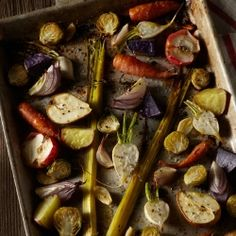 Roasted Fall Vegetables - a simple yet elegant veggie dish