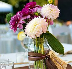Ideas for Easy DIY Wedding Centerpieces