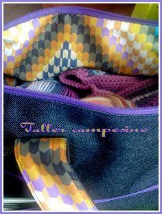 Taller campesino: Riciclo: idee per riciclare del tessuto jeans