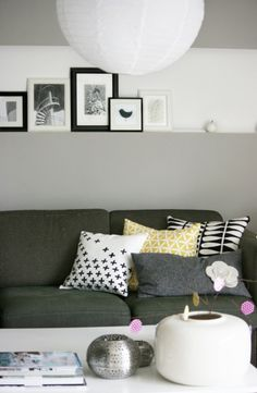 DIY Kissen, Tags Wohnzimmer + Kissen gestempelt
