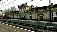 The oldest, still working trainstation in the Netherlands. Station Valkenburg aan de Geul. Zuid-Limburg, the Netherlands.