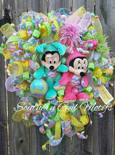 Decorate This Season With Disney Spring and Easter Wreaths