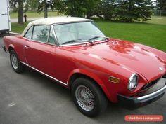 1977 Fiat 124 Spider #fiat #124spider #forsale #canada