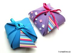 krabičky na dárky