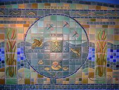 Tile Mosaic by Gretchen Kramp at the Detroit Zoo, Royal Oak, MI