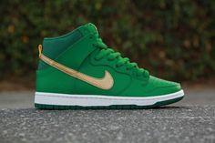 """Nike SB Dunk High Pro """"St. Patty's Day"""""""