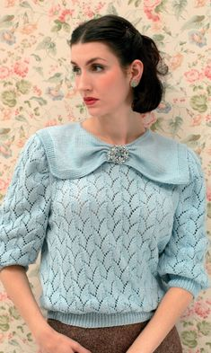Vintage knitting styles from 1920-1949 - Let's Knit blog
