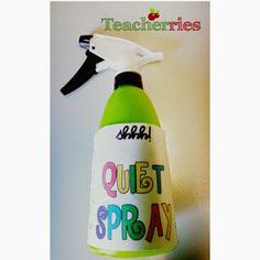Teacherries: Quiet Spray by The Lemonade Stand