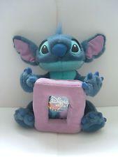 """STITCH Disney soft toy with photo frame LILO & STITCH plush/comforter 11"""""""