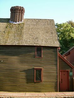 The Pickman House is located on Charter Street in Salem, Massachusetts. The house was built in 1664.