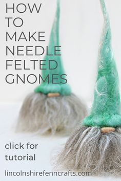 Category: Christmas Gnome – Full step by step tutorial Wet Felting Projects, Needle Felting Tutorials, Christmas Gnome, Christmas Crafts, Needle Felted Animals, Felt Animals, Book Crafts, Craft Books, Creative Christmas Gifts